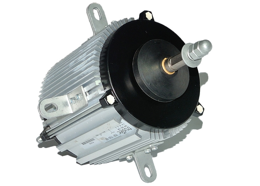 8 Pole 925Rpm Single Speed Heat Pump Fan Motor , Hvac Air Cooled Fan Motor